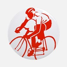 Bike Rights 3 Ornament (Round)
