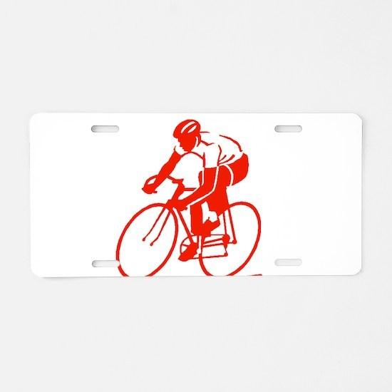 Bike Rights 3 Aluminum License Plate