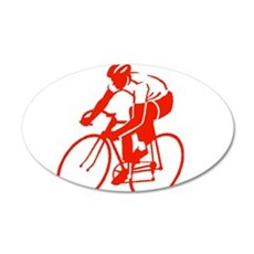 Bike Rights 3 20x12 Oval Wall Decal