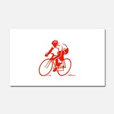 Bike Rights 3 Car Magnet 20 x 12
