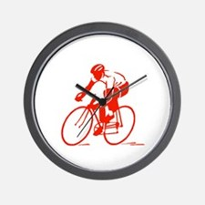 Bike Rights 3 Wall Clock