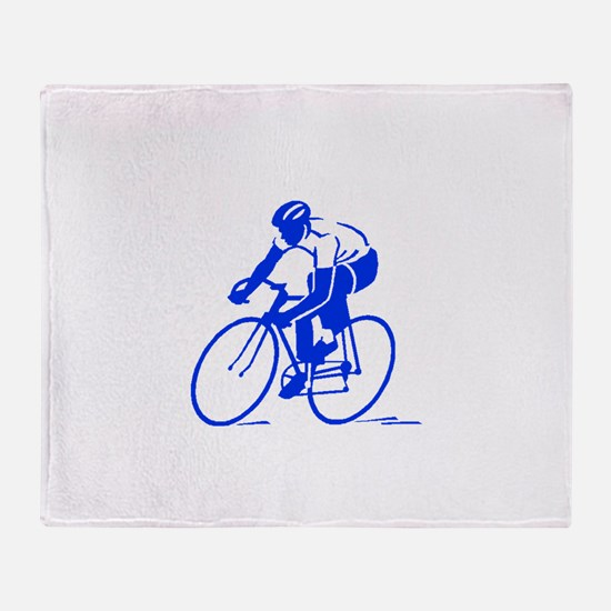 Bike Rights 1 Throw Blanket