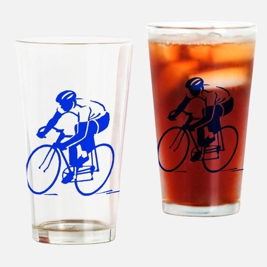 Bike Rights 1 Drinking Glass