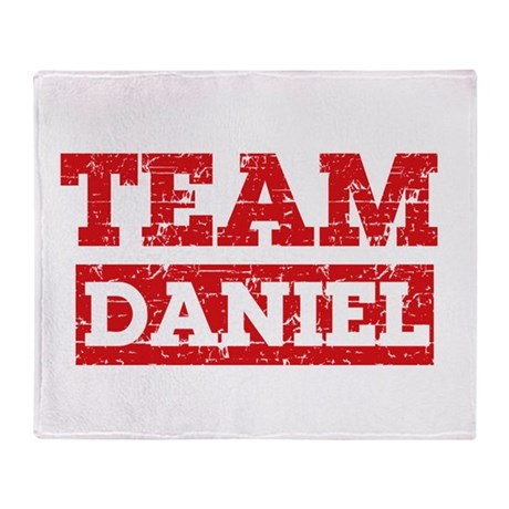Team Daniel Throw Blanket