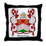 Berszten Coat of Arms Throw Pillow