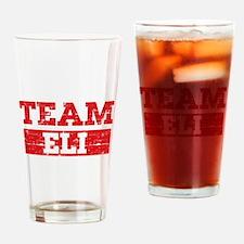 Team Eli Drinking Glass