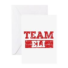 Team Eli Greeting Card