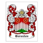 Berszten Coat of Arms Small Poster