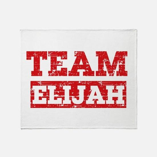 Team Elijah Throw Blanket