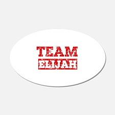 Team Elijah Wall Decal