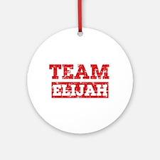 Team Elijah Ornament (Round)