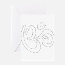 Soul Qualities OM - Women Greeting Cards