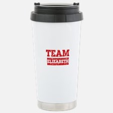 Team Elizabeth Stainless Steel Travel Mug