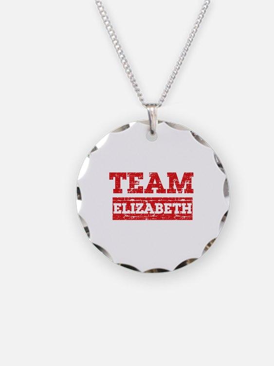 Team Elizabeth Necklace