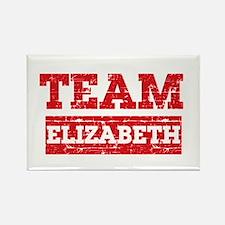 Team Elizabeth Rectangle Magnet