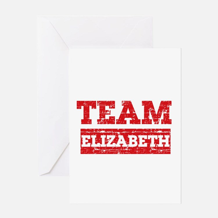 Team Elizabeth Greeting Card