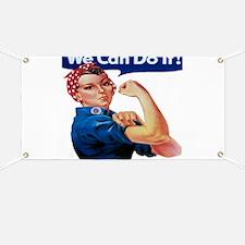 Rosie the Riveter Banner