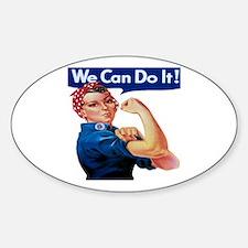 Rosie the Riveter Bumper Stickers