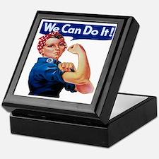 Rosie the Riveter Keepsake Box