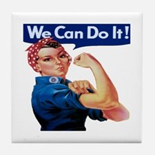 Rosie the Riveter Tile Coaster