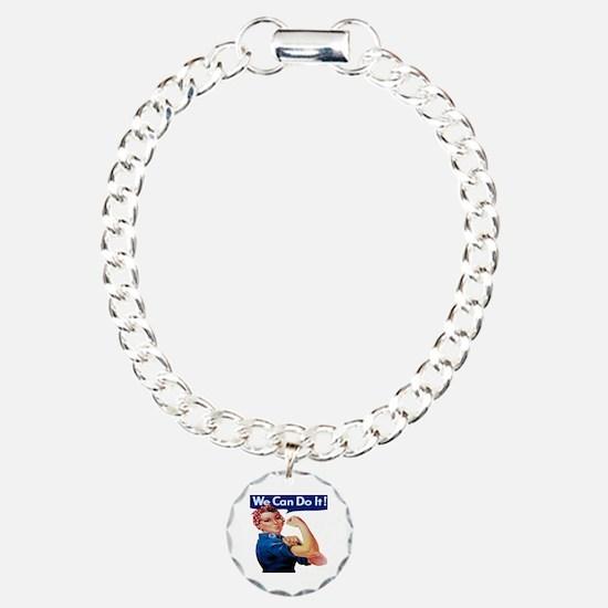 Rosie the Riveter Bracelet