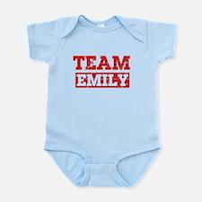 Team Emily Infant Bodysuit
