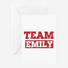 Team Emily Greeting Card