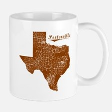 Porterville, Texas (Search Any City!) Mug