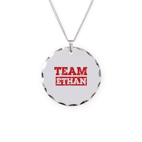 Team Ethan Necklace Circle Charm