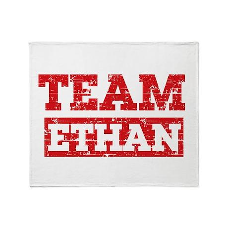 Team Ethan Throw Blanket