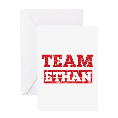 Team Ethan Greeting Card