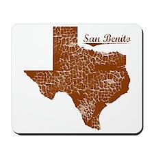 San Benito, Texas (Search Any City!) Mousepad
