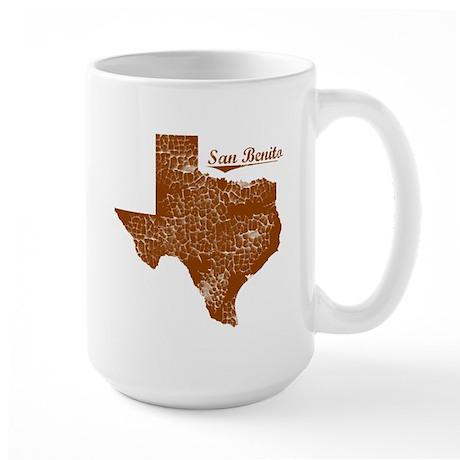 San Benito, Texas (Search Any City!) Large Mug