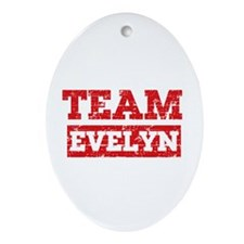 Team Evelyn Ornament (Oval)