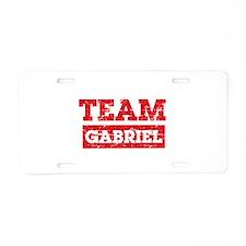 Team Gabriel Aluminum License Plate