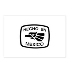 Hecho En Mexico - Made In Mex Postcards (Package o