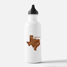 Lake Kiowa, Texas (Search Any City!) Water Bottle