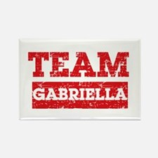 Team Gabriella Rectangle Magnet