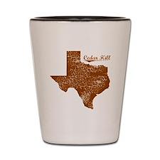 Cedar Hill, Texas (Search Any City!) Shot Glass