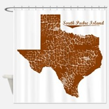 South Padre Island, Texas. Vintage Shower Curtain