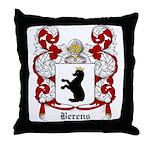 Berens Coat of Arms Throw Pillow
