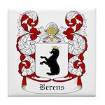Berens Coat of Arms Tile Coaster