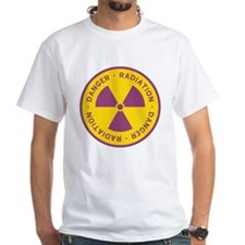 Radiation Warning Symbol Shirt
