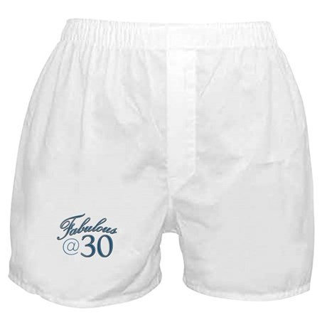 Fabulous at 30 Boxer Shorts