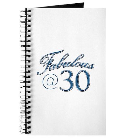 Fabulous at 30 Journal