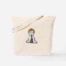 Tot Lover Westie Tote Bag