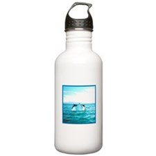 Jumping Dusky Dolphins Water Bottle