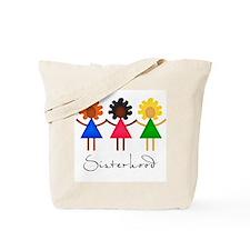 Contemporary Sisterhood Tote Bag