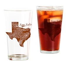 San Saba, Texas (Search Any City!) Drinking Glass
