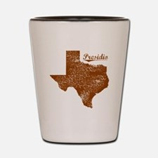Presidio, Texas (Search Any City!) Shot Glass
